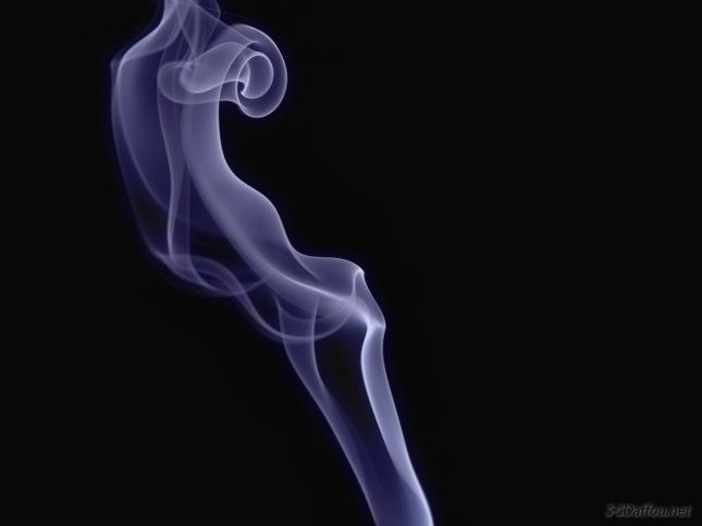 ...es como el humo... no ves que está ahí hasta que te molesta.