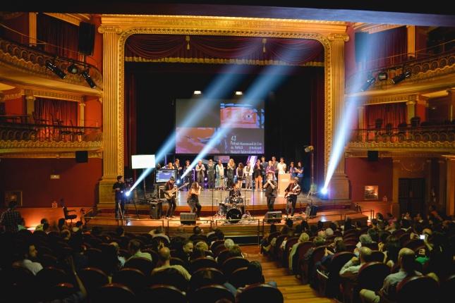 El 43 Festival Internacional de Cine de Huesca congregó a más de 6 000 espectadores (Foto Jorge Dueso)