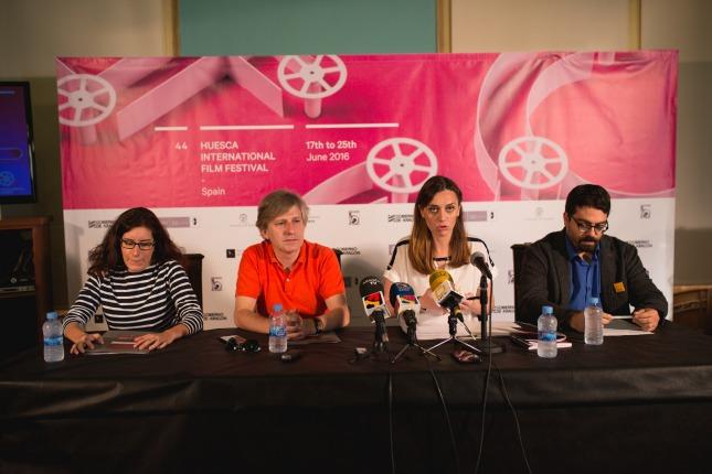 De izquierda a derecha - Julia Rincón, Gaizka Urresti, Azucena Garanto y José Luis Farias