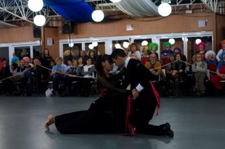 Patricia Martínez y Adrian Esperon, Asociacion Aragonesa de Bailes de Salon.